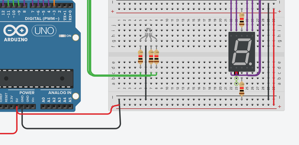 Attaching the RGB and Seven Segment Display(pt.2)