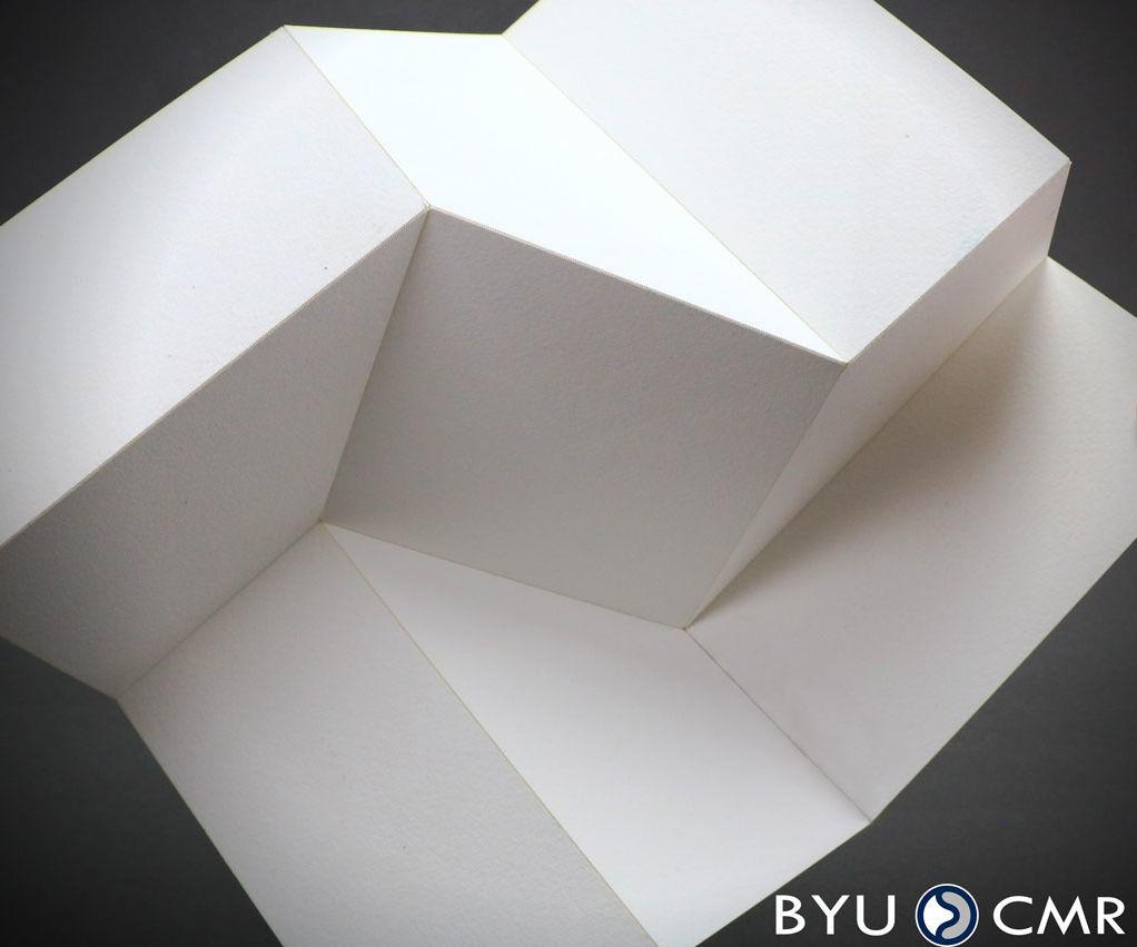 Origami Square Twist