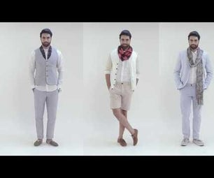 3 Ways to Style a Men's Scarf