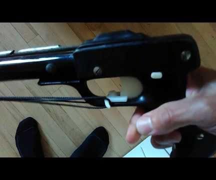 3D Printed Finger Line Release for Sling Speargun Seac Sub Killer 60