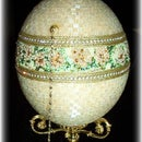 Ostrich Beaded Jewel Box