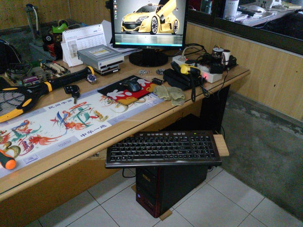 Swivel Keyboard