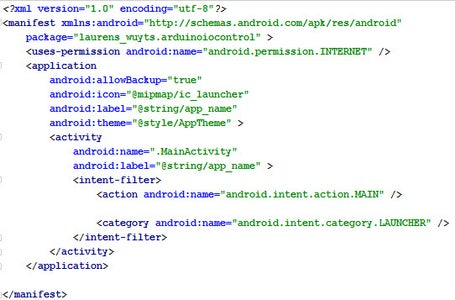 Adding Permissions to Your App