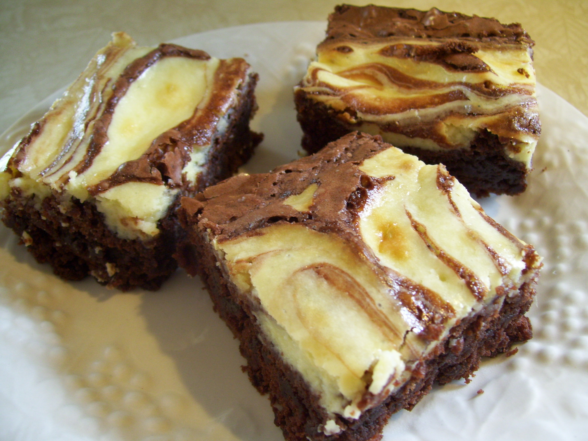 Bacon Cheesecake Brownies
