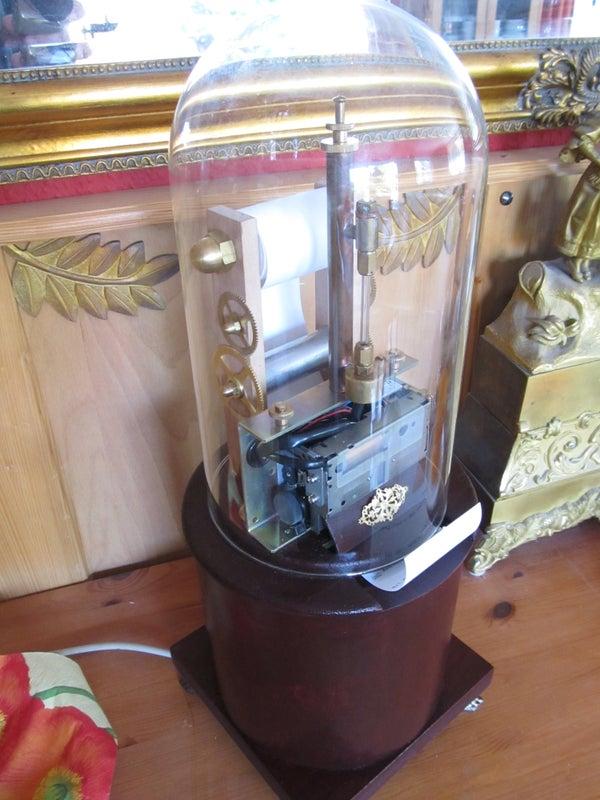 "The Amazing Steampunked ""Ticker Machine"""