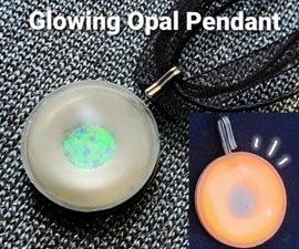 Glowing Opal Pendant