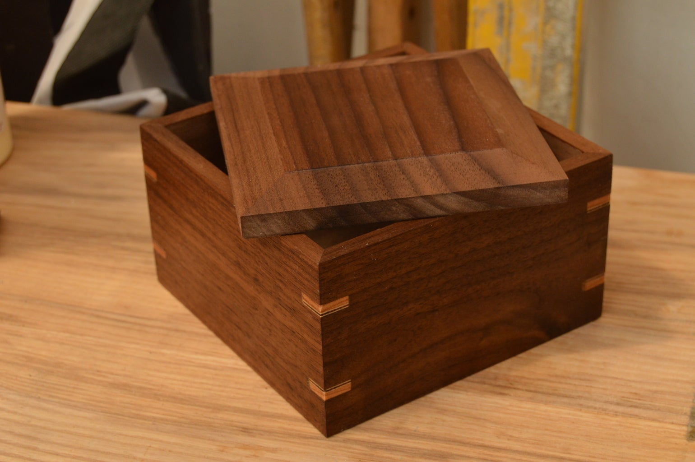 Handmade Walnut Box