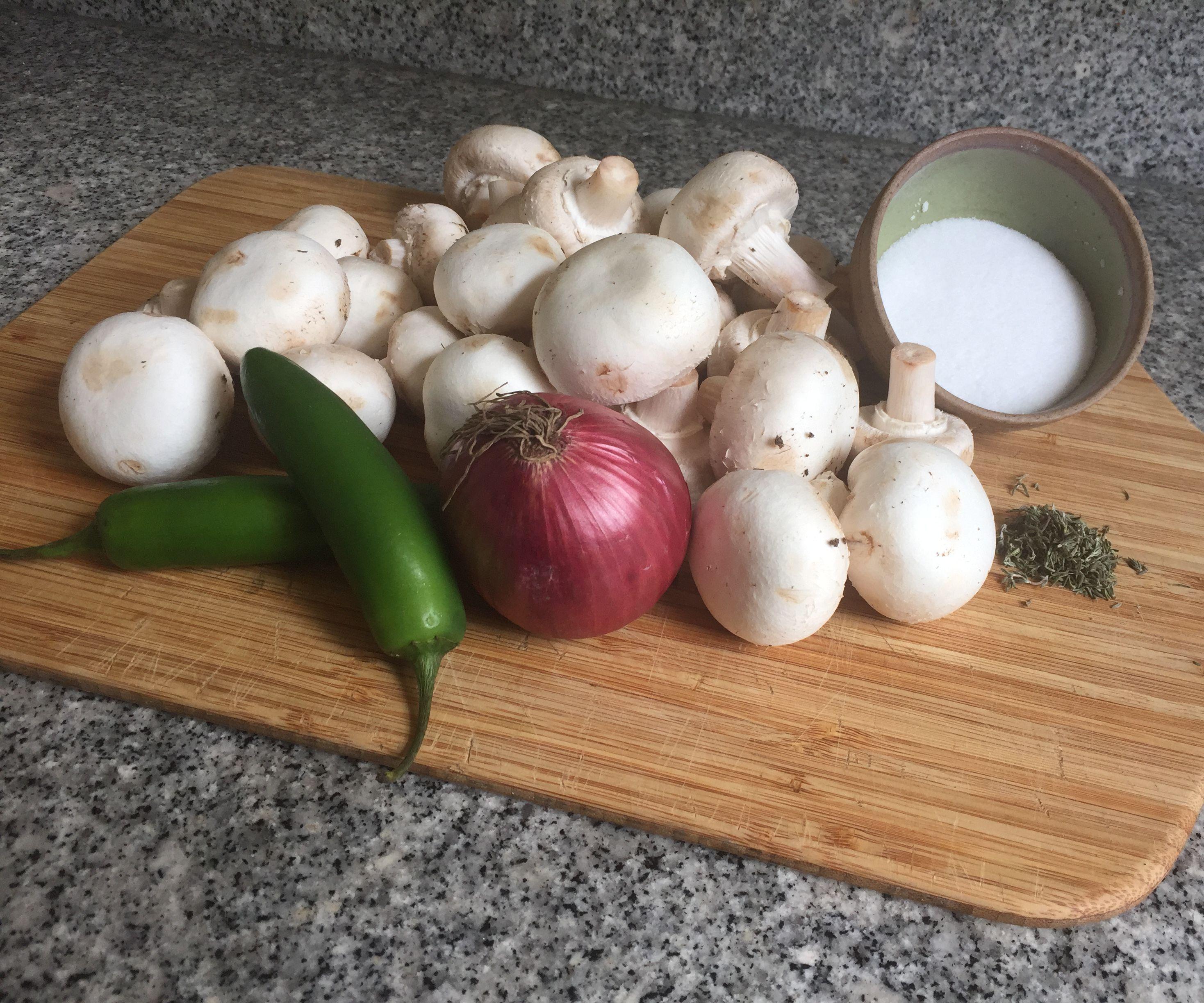 Spicy Cream of Mushroom Soup