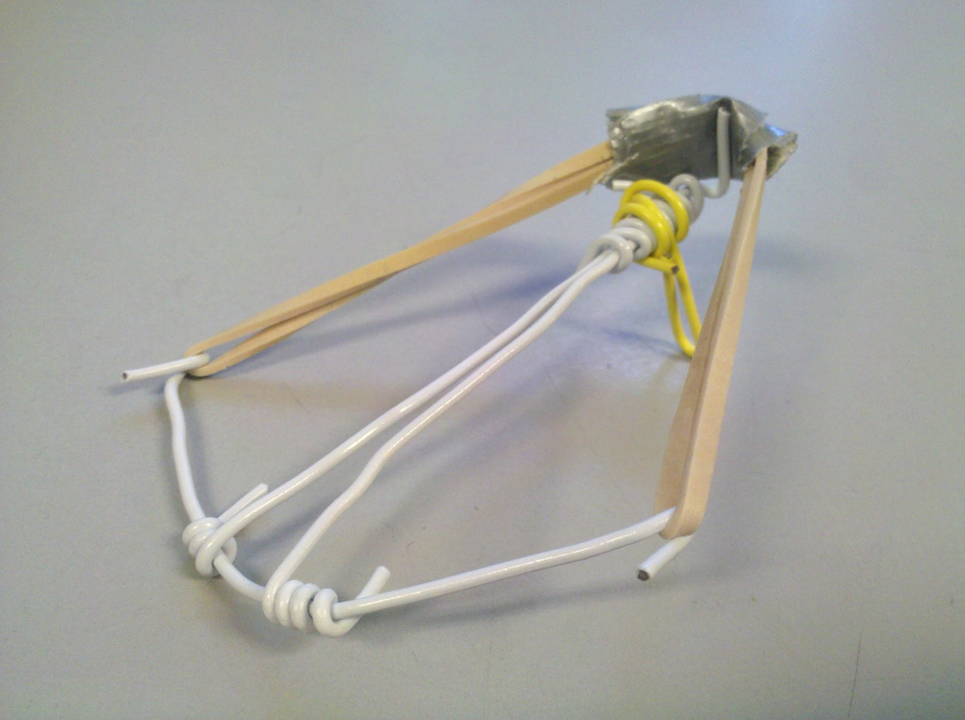 Reception Desk Paperclip Crossbow