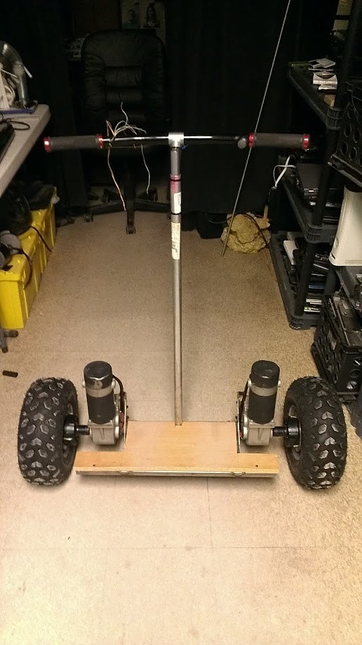 Self Balancing Segway Style Scooter for Under 300.00