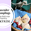 Lavender Dumplings from Skyrim