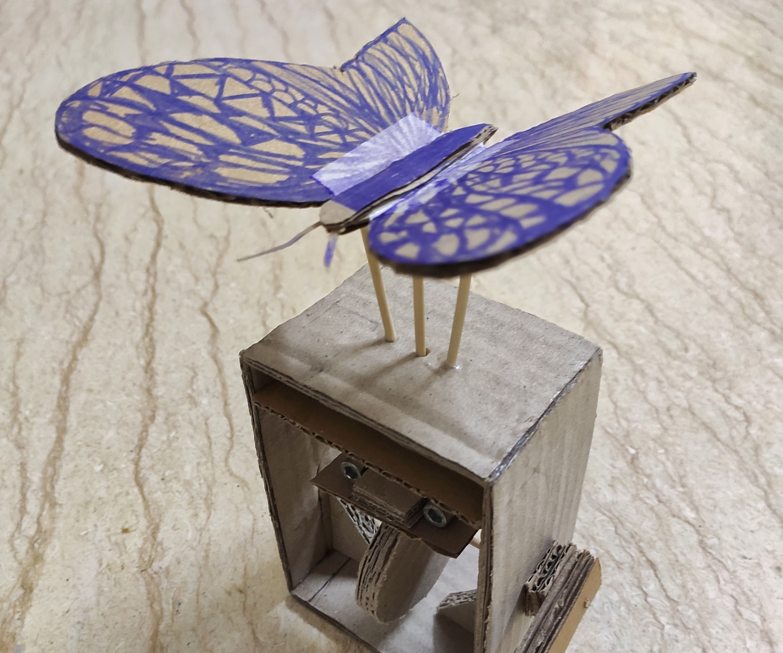 Automaton Butterfly