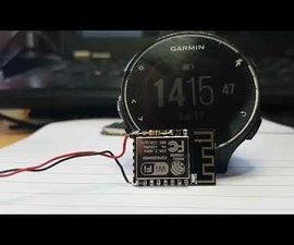 One LED WIFI Clock