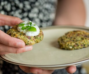 Baked Zucchini and Feta Cheese Patties