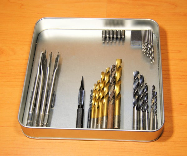 Magnetic Drill Bit Storage Case