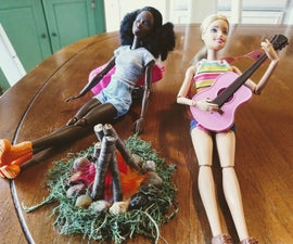 Campfire for Dolls and Action Figures