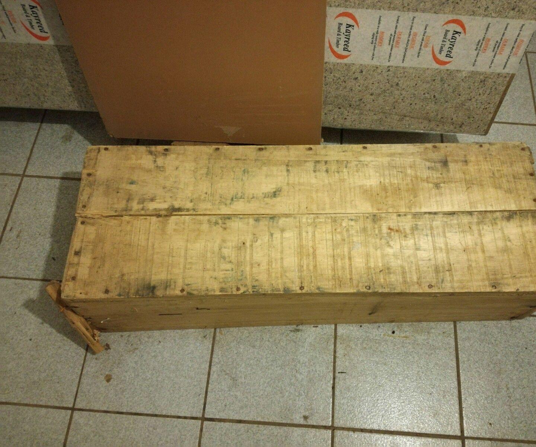 Reclaimed Wooden Workbench