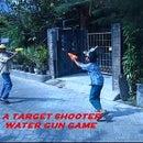 A TARGET WATER GUN SHOOTER GAME