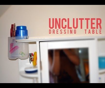 Dressing Table Organizor