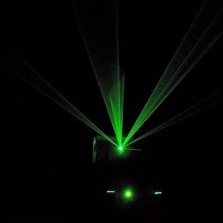 Frameless Laser Harp