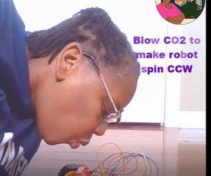 Temperature /CO2 Alert Robot