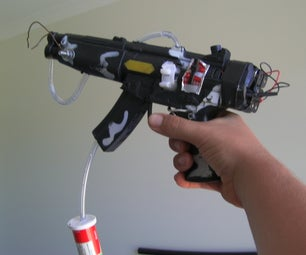 Alcohol Powered Flamethrower
