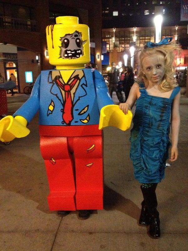 Zombie Lego Minifigure Costume