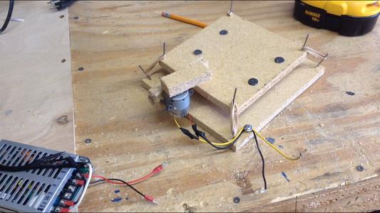 Wiring the Motor