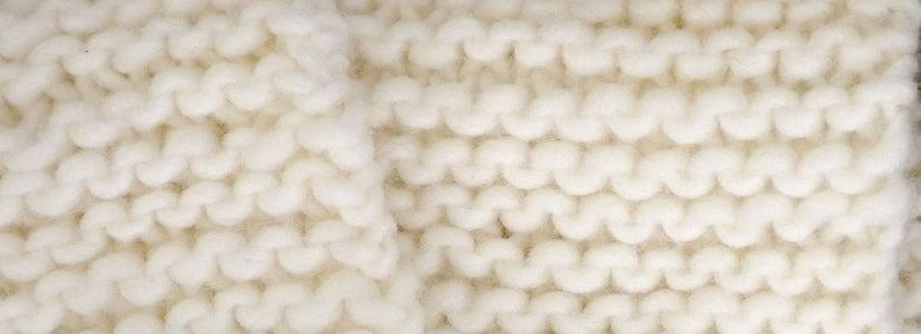 How to Do the Knit Stitch