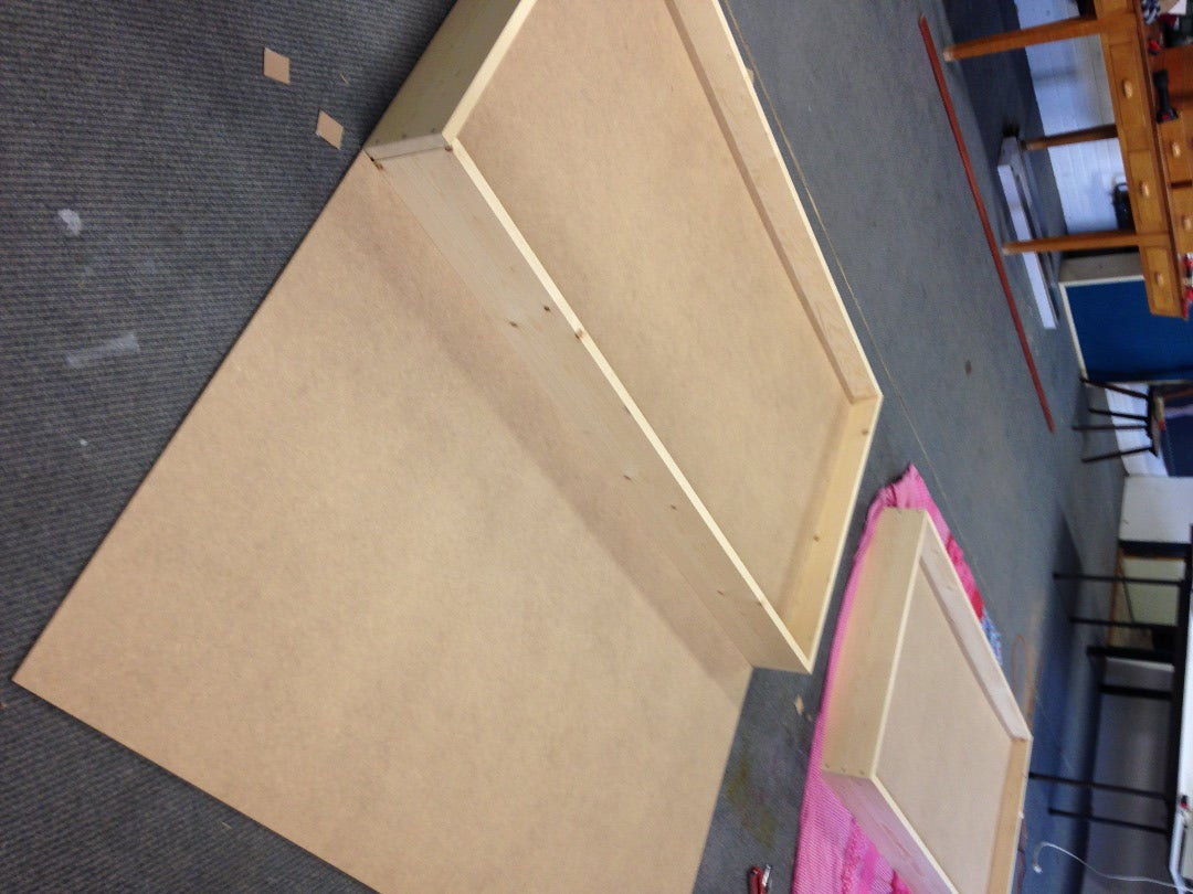 MDF Board on the Back