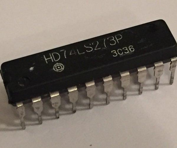 Understanding 74LS273 Octal D Flip-Flop IC