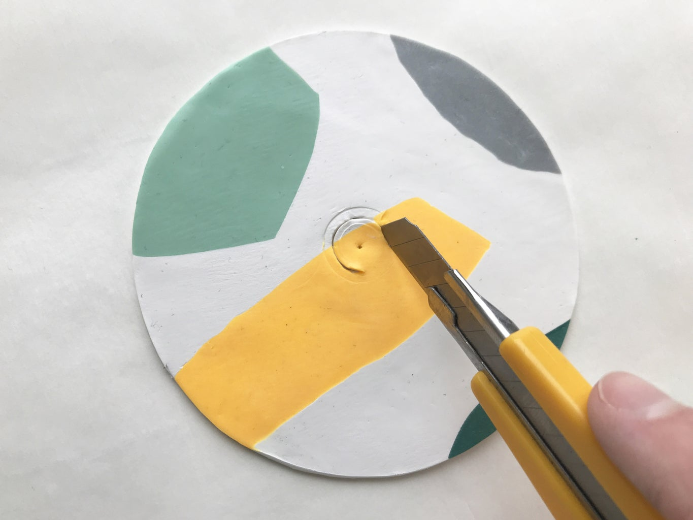 Cutting a Center Hole