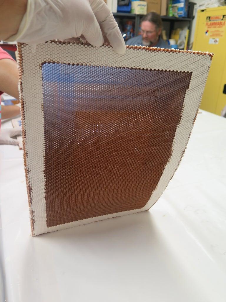 Mold Core Prep - Edge Filling Complete