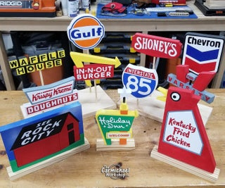 Miniature Road Signs