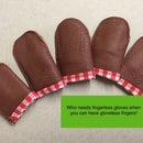 Reinforced Finger Guards for Felting