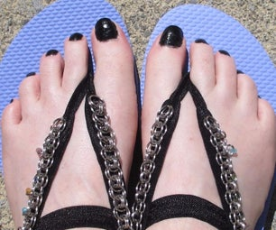 Chainmaille (or Anything) Sandals