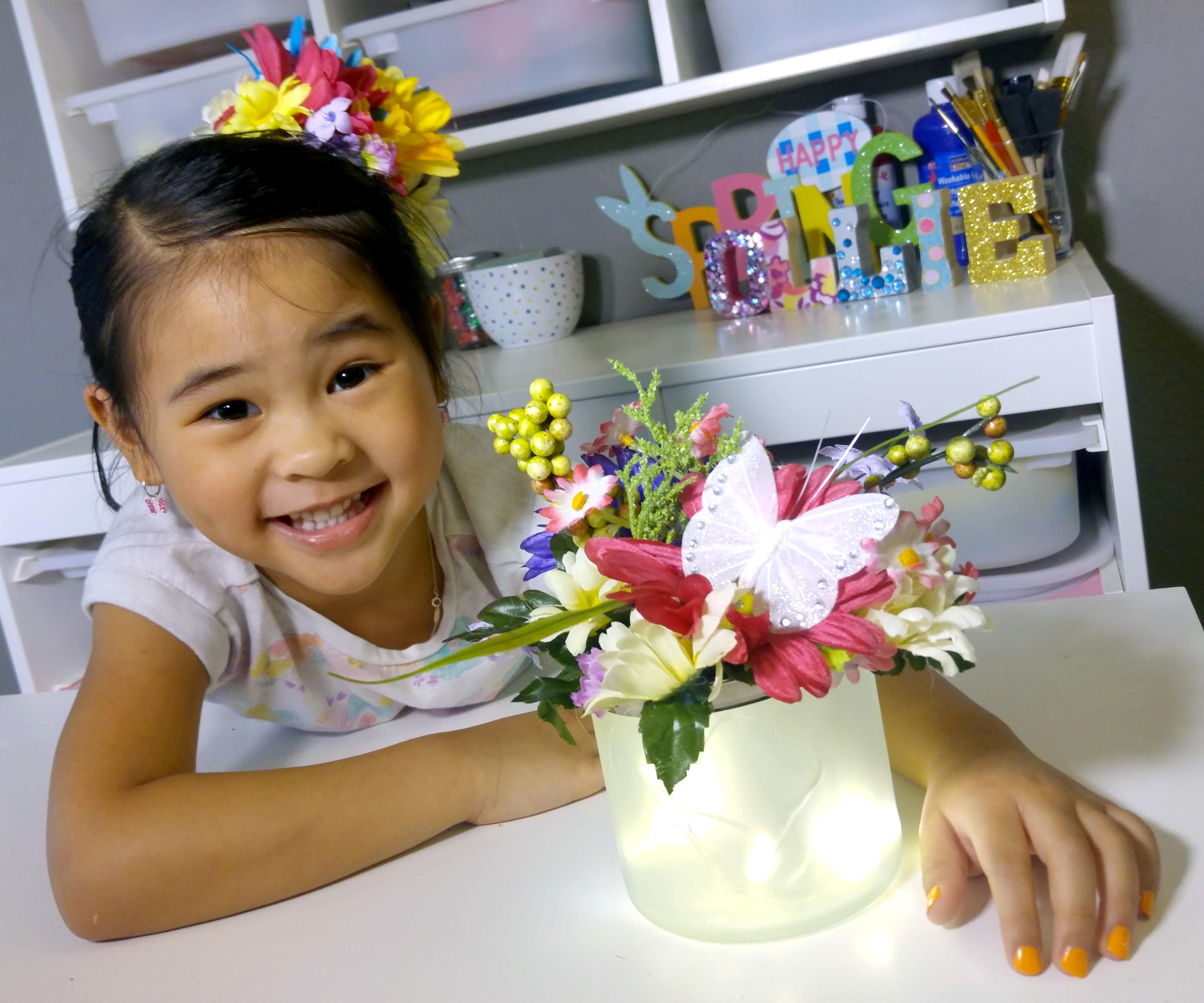 DIY Flower Night Light