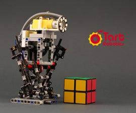 A DIY Biped Robot With Arduino, Lego, and 3D Printed Parts