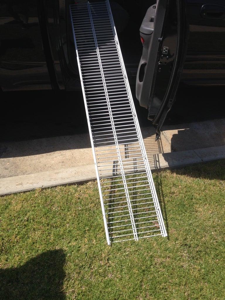 Inexpensive Doggie Ramp