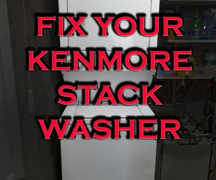 Fix Your Kenmore Stack Washer