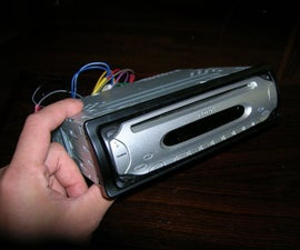 Recycling Old Car Radio Into an Audio Amplifier