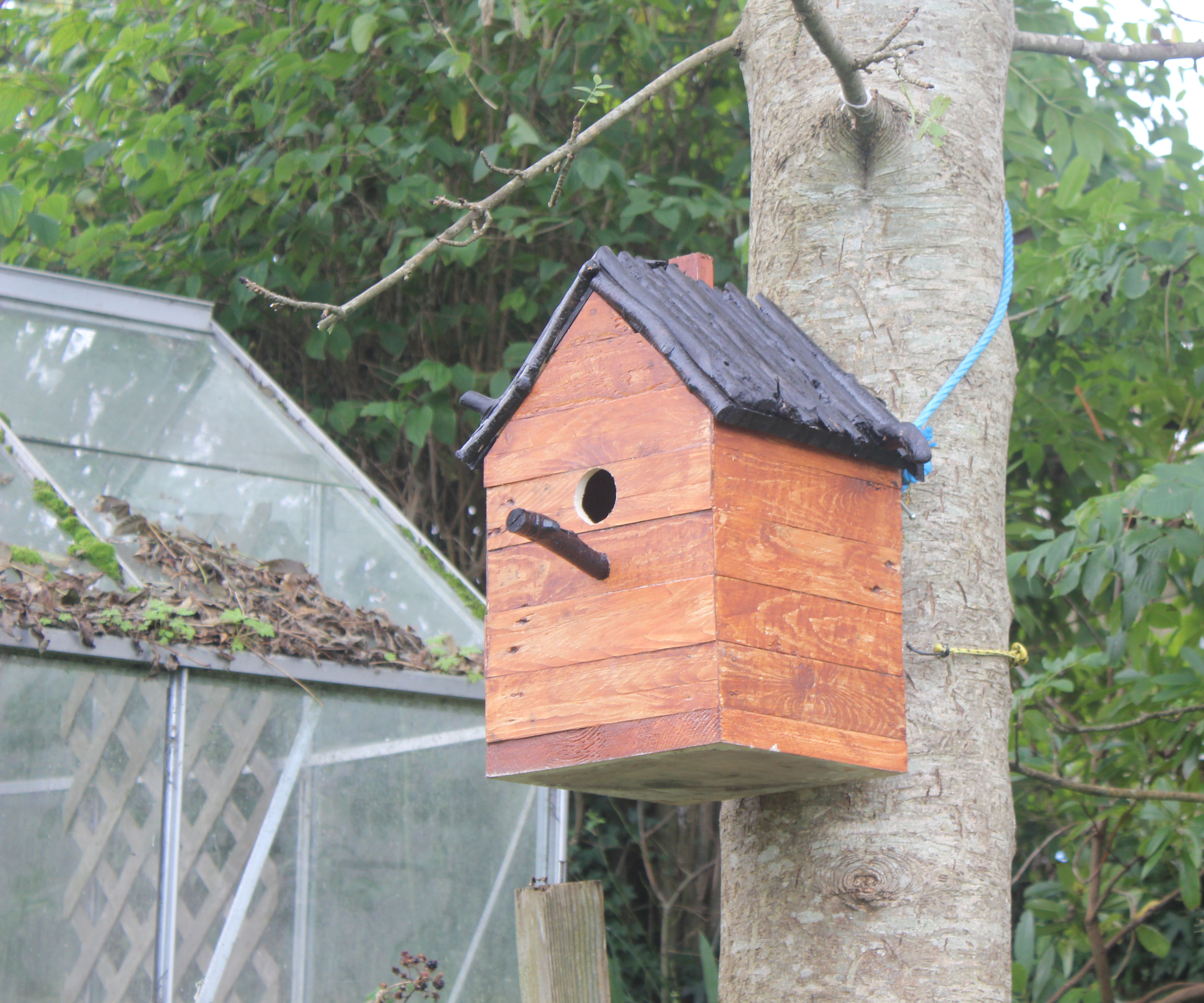 How To Build a Birdhouse from Pallets