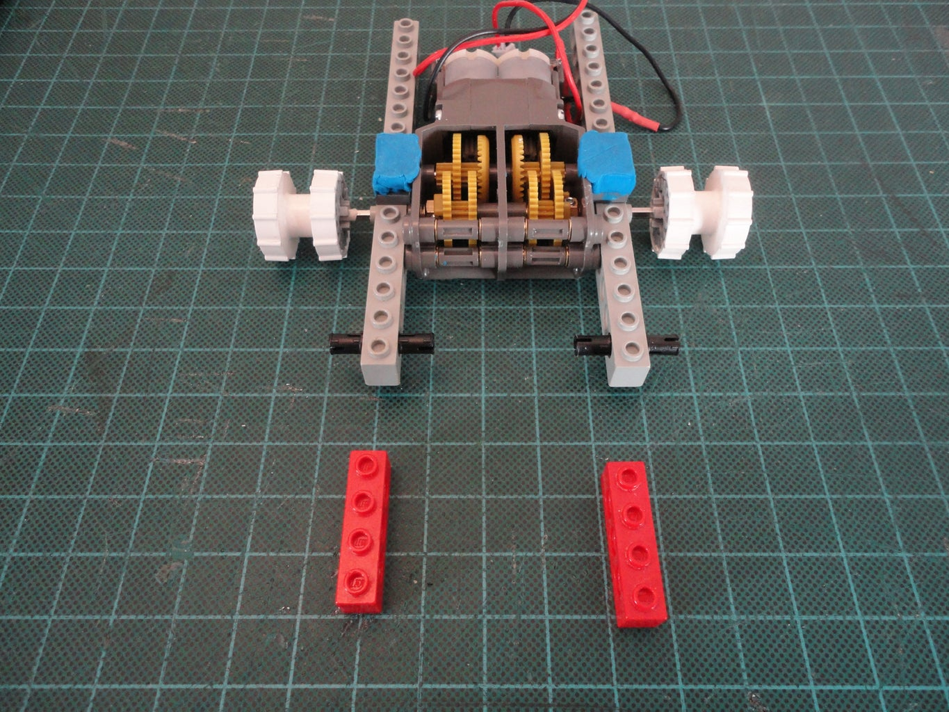 Vertical Gearbox Support & Base
