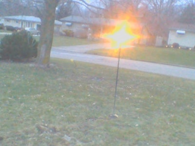 How to Make a Light Post on the Cheap
