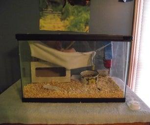 My Rats' New Cage Setup