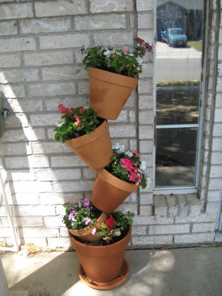 Tip-Top Flower Pots: Maximize Limited Space to Grow Plants and Flowers!