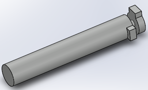 Designing the Handle (Key) in Solidworks