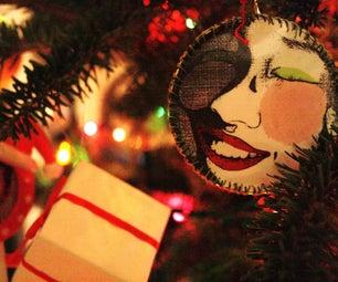 Hoop Earring Ornament
