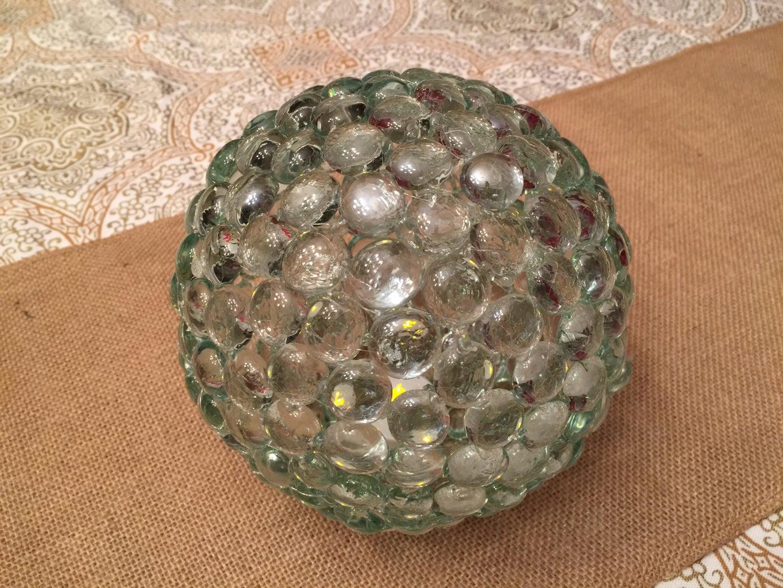 Glass Gem Ball Light