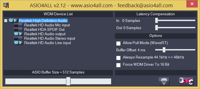 Getting Started: Download and Set Up ASIO4ALL